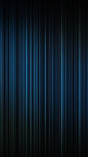 Blue Light Lines Straight Android Wallpaper ...