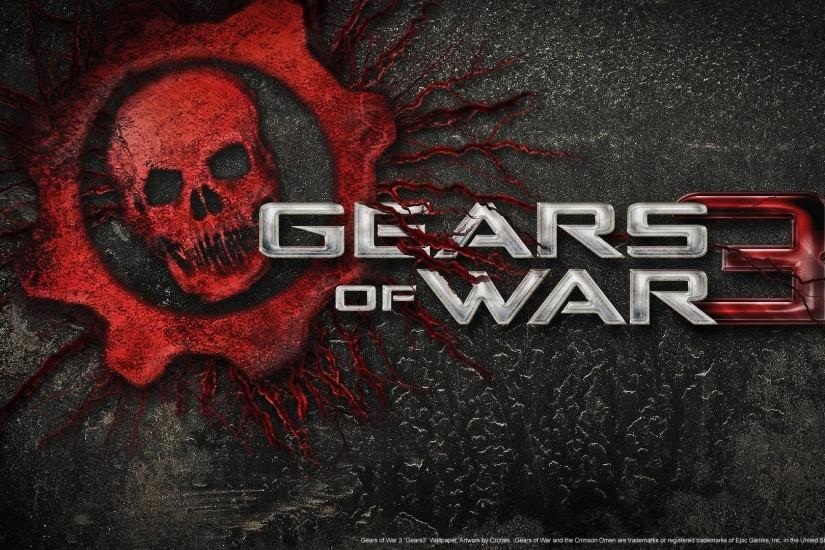 Gears Of War 3 3D Wallpaper