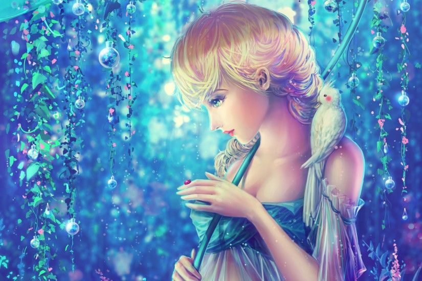 girl-bird-parrot-ladybug-dew-princess-Elsa-rainbow-