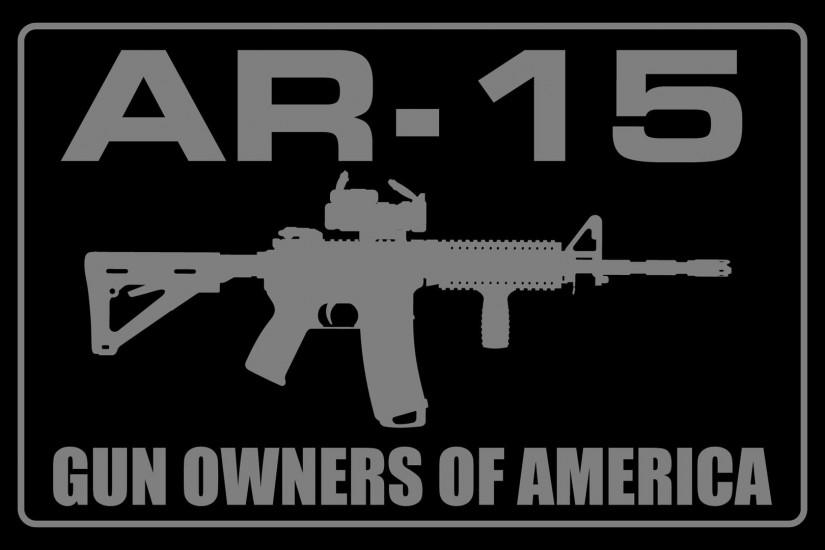Weapons - AR-15 Wallpaper