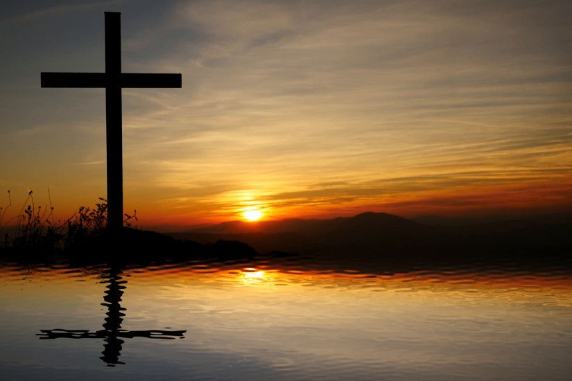 jesus cross religious symbol. hope and believe background Stock Video  Footage - VideoBlocks