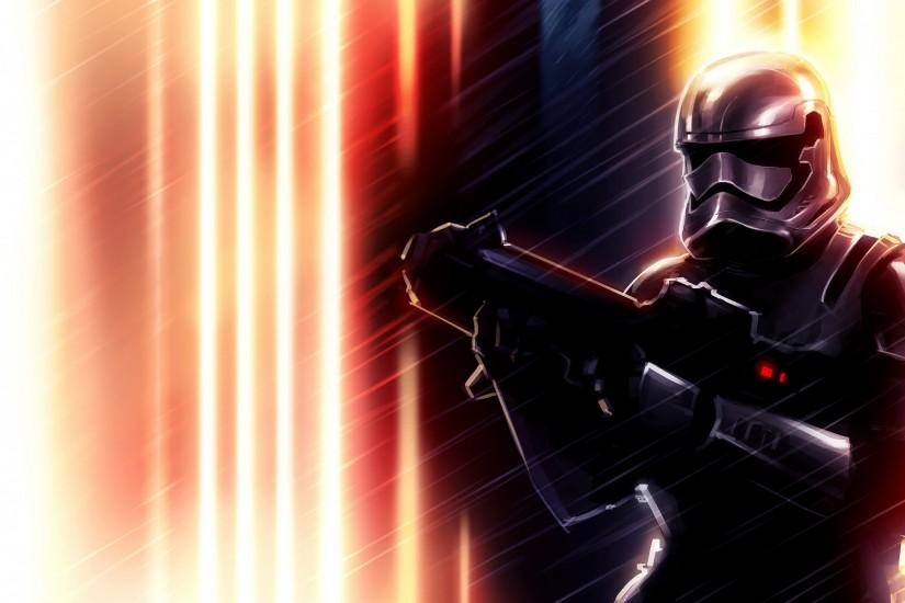 Preview wallpaper stormtrooper, episode vii, star wars 3840x2160