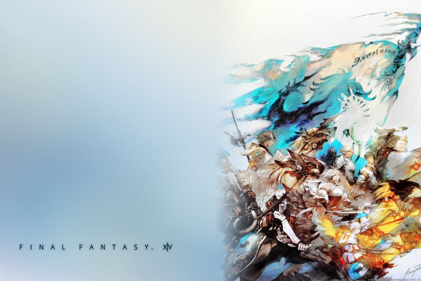 Final Fantasy XIV Wallpaper | HD Wallpapers | Pinterest | Wallpaper, Anime  eyes and deviantART