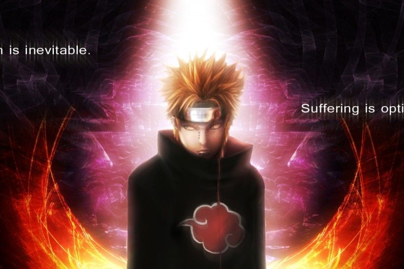 Preview wallpaper naruto, akatsuki, rinnegan, pain, guy, look 1920x1080