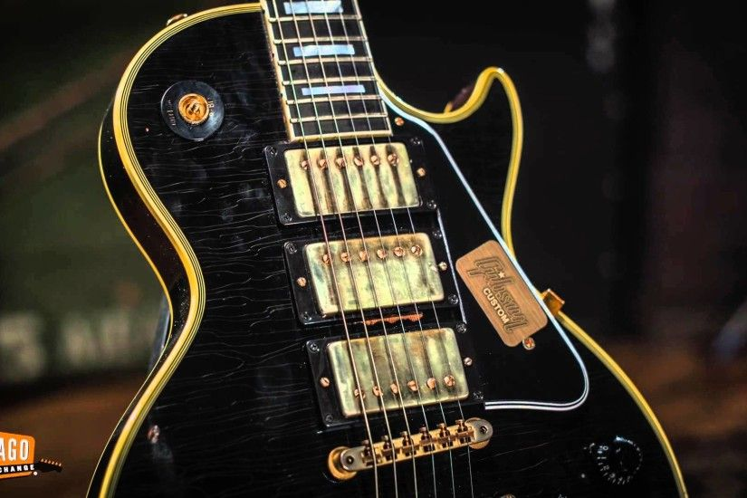 Gibson Custom Shop Collectors Choice #22 - Tommy Colletti 1959 Les Paul  Custom | Guitar Demo - YouTube