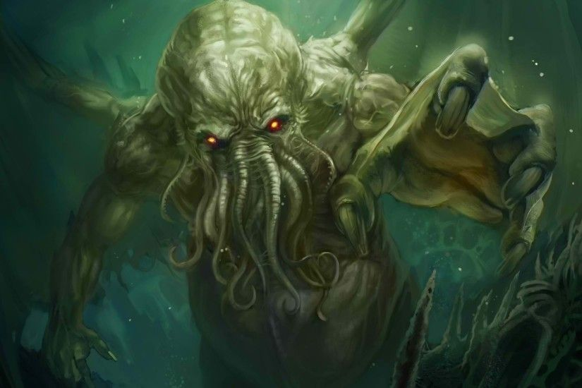 Tablet Compatible - Cthulhu Wallpapers for PC & Mac, Tablet, Laptop, Mobile