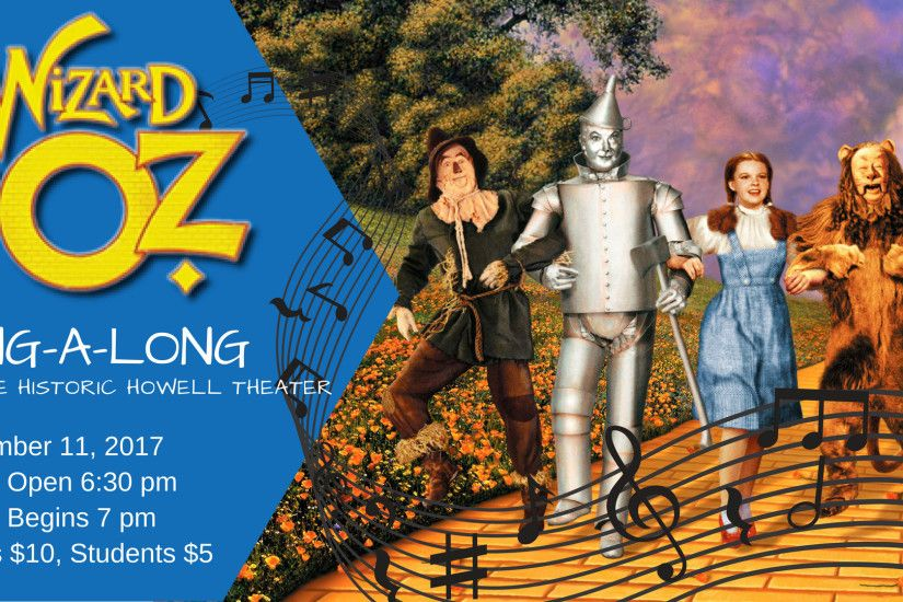 Have you ever been to a film musical and had the uncontrollable urge to  burst into song? Join us for an old-school musical classic – it's The Wizard  of Oz ...