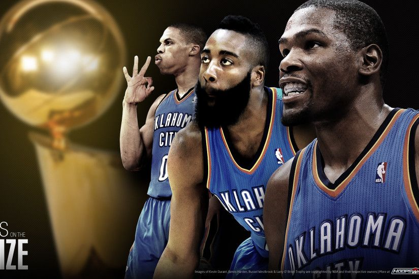 Oklahoma Thunder 2012 wallpaper