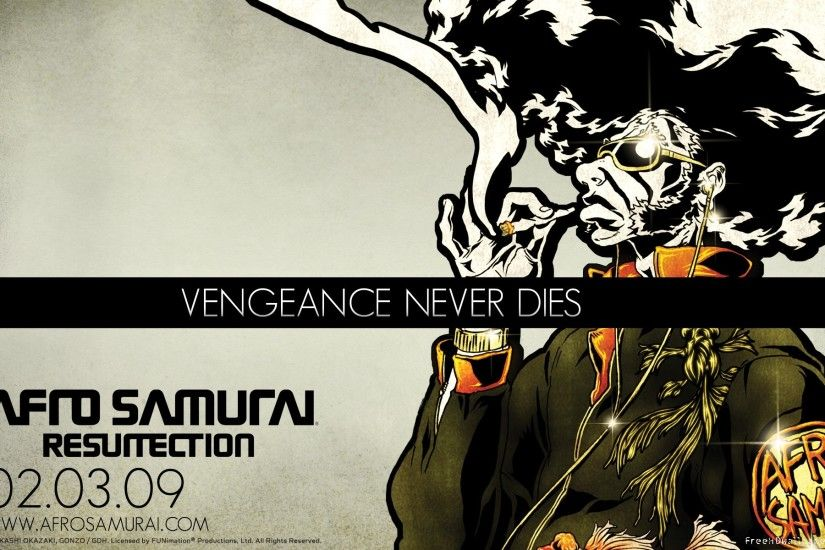 Vengeance Afro Samurai Desktop Background. Download 1920x1200 ...