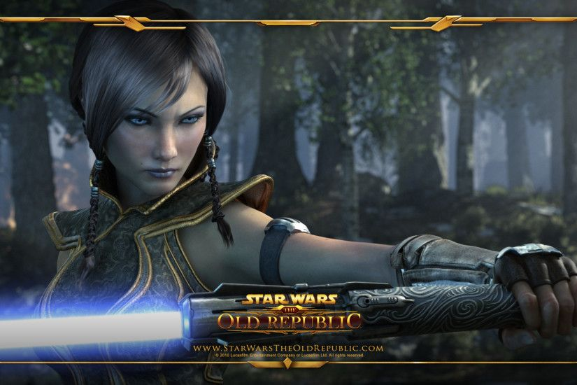 ... Wallpaper - #SC Miraluka Jedi Knight character creation - SWTOR TOR  Star Wars: The .