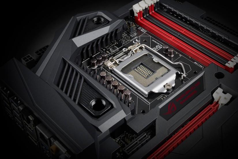Gamers Introduces Maximus vi Formula Motherboard Wallpaper