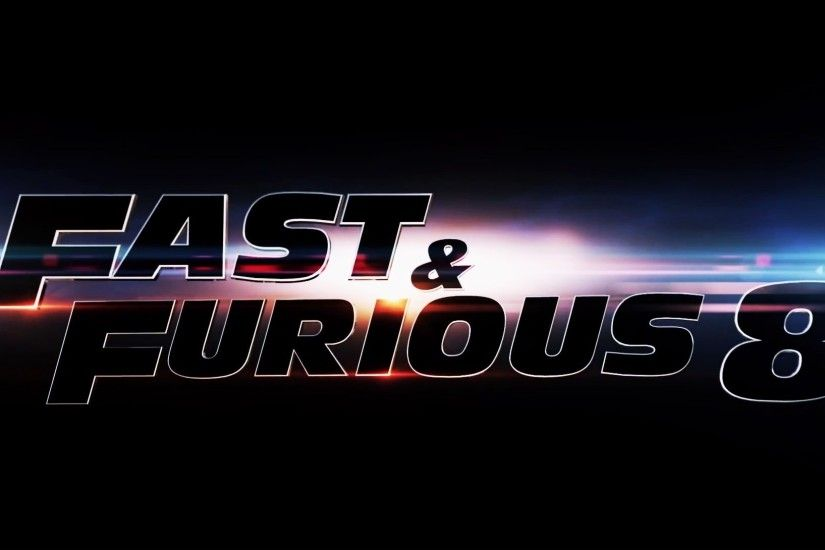 Fast and Furious 8 Logo Wallpaper 61267