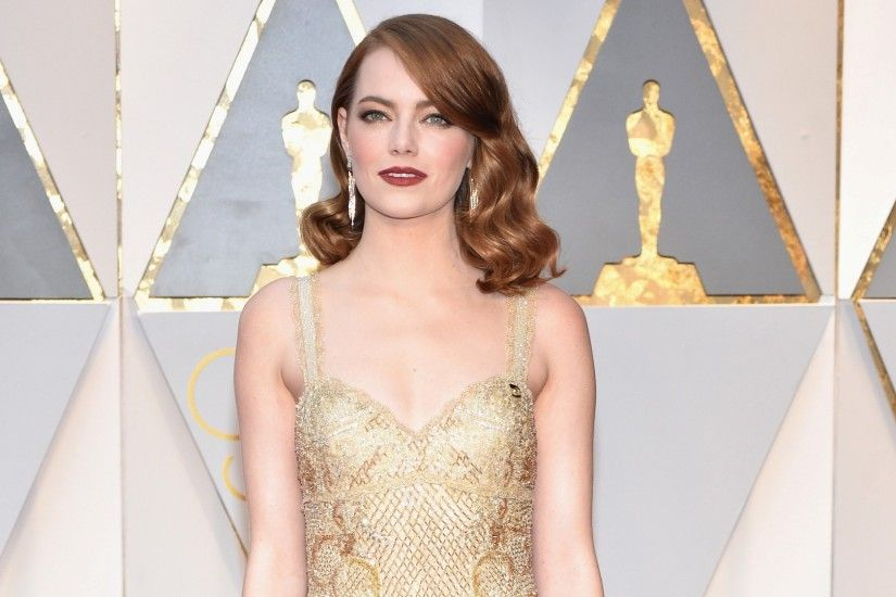 1942 Views 627 Download Emma Stone in Oscar 2017 Red Carpet HD Photo