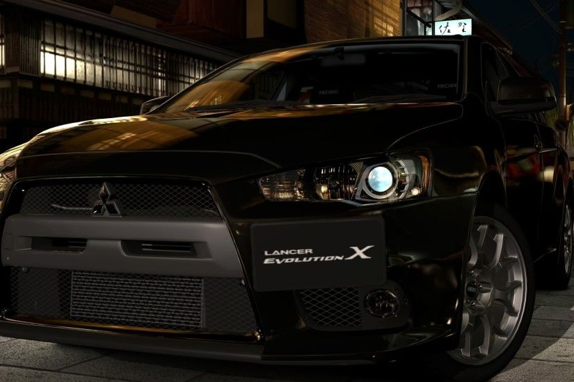 wallpaper video games · cars · Mitsubishi Lancer Evolution