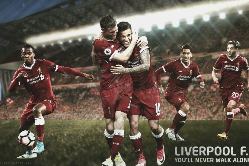 ... Liverpool FC Wallpaper - 2017/2018 by jgfx-designs