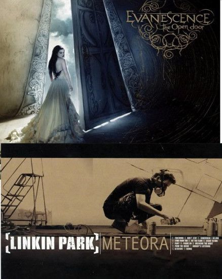 Evanescence vs. Linkin Park images The Open Door vs. Meteora.Which album do  you like better? HD wallpaper and background photos