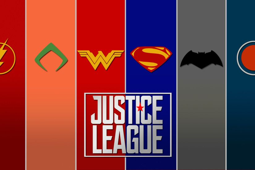 FAN-MADEMade a quick Justice League wallpaper ...