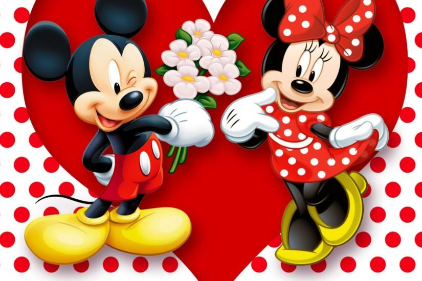Mickey And Minnie Mouse Wallpaper High Quality Resolution.
