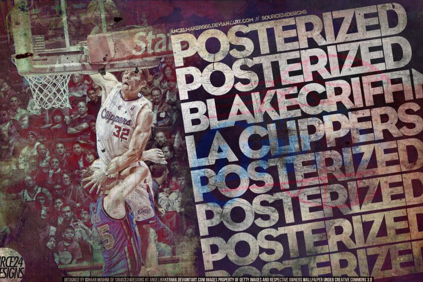 Blake Griffin Posterized by IshaanMishra Blake Griffin Posterized by  IshaanMishra