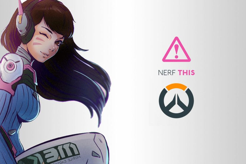 Overwatch Dva Wallpaper 1920×1080
