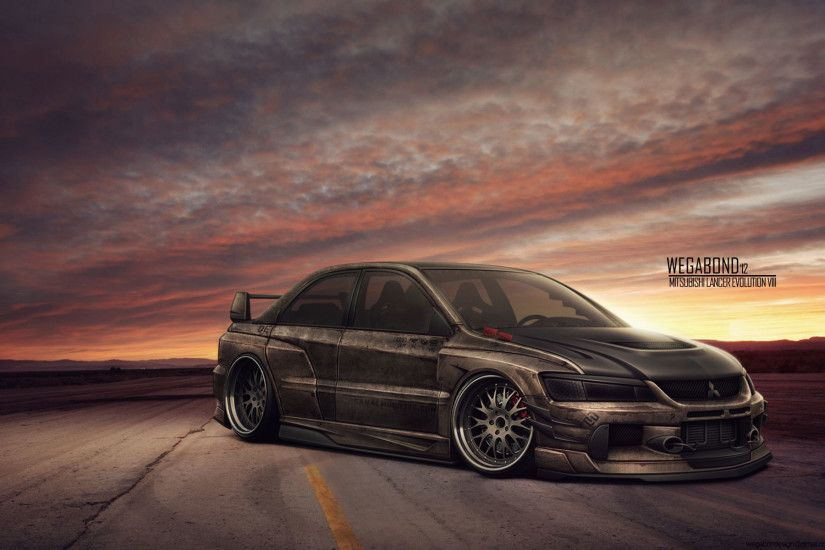 Mitsubishi Lancer Evolution wallpaper