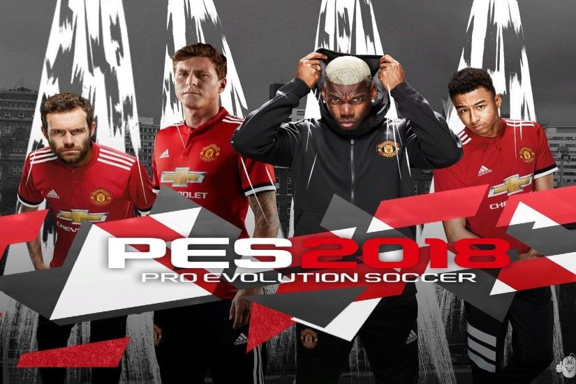 Pro Evolution Soccer 2018 / Graphic Mods / Manchester united Start Screen  CPK - Pro Evolution Soccer 2018