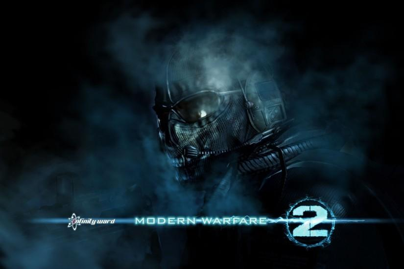 Ghost - Modern Warfare 2 Wallpaper (15415587) - Fanpop