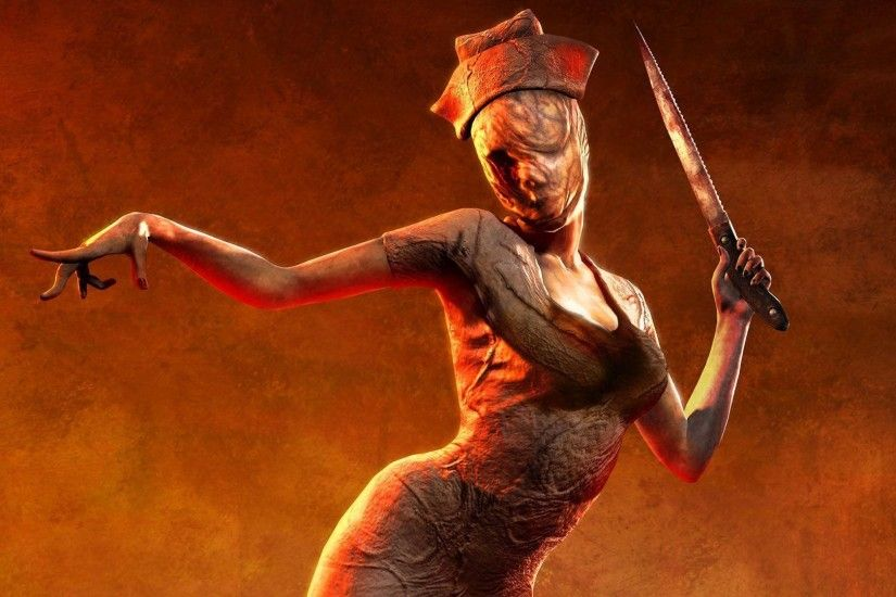 HD Silent Hill creepy nurse Wallpaper