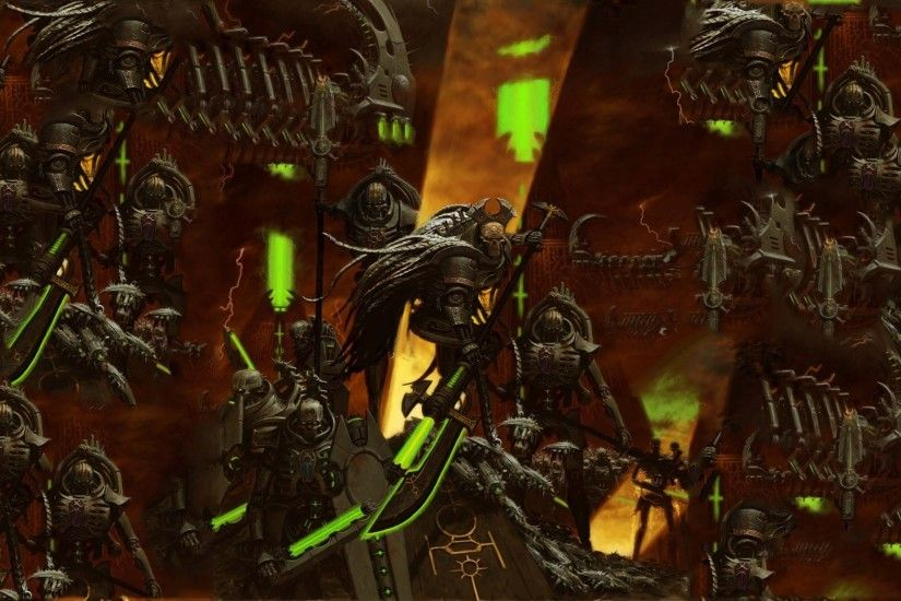 Necron - Warhammer 40,000 wallpaper - Game wallpapers - #28528