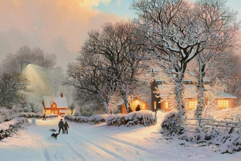download winter backgrounds 1920x1200