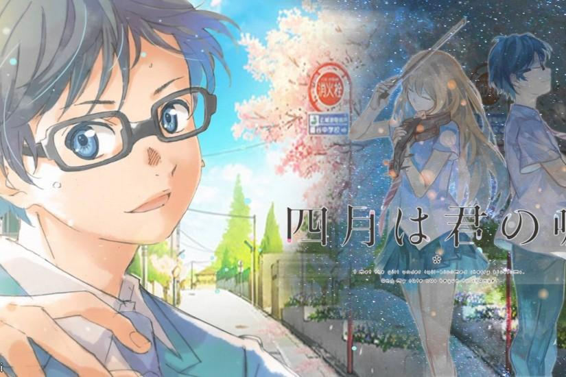 top your lie in april wallpaper 1920x1080