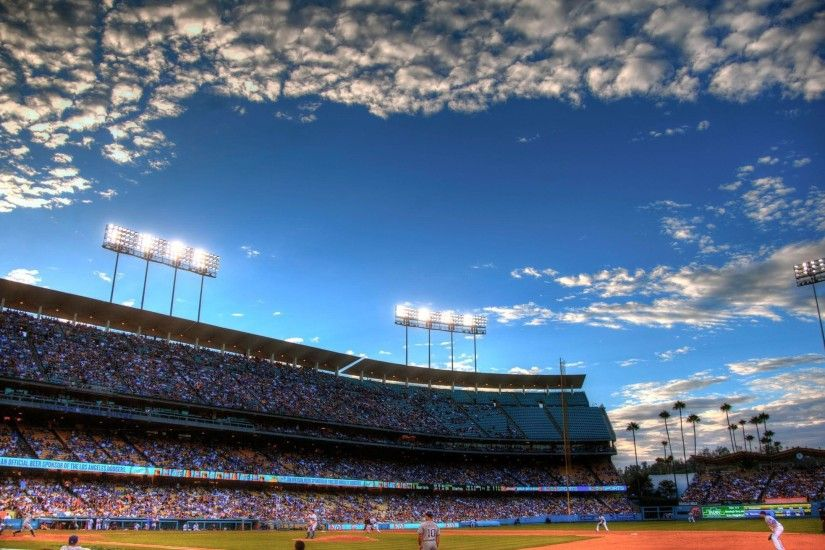 Los Angeles Dodgers Stadium HD Wallpaper Download Logo And Photo .