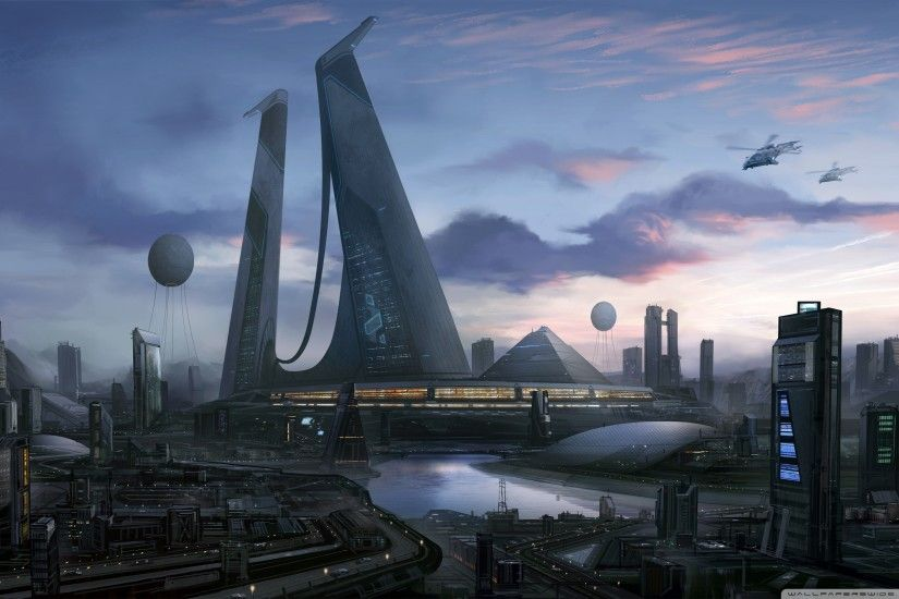 futuristic city art hd wallpaper download tablet background wallpapers  smart phones colourful mac desktop images samsung phone wallpapers  widescreen ...