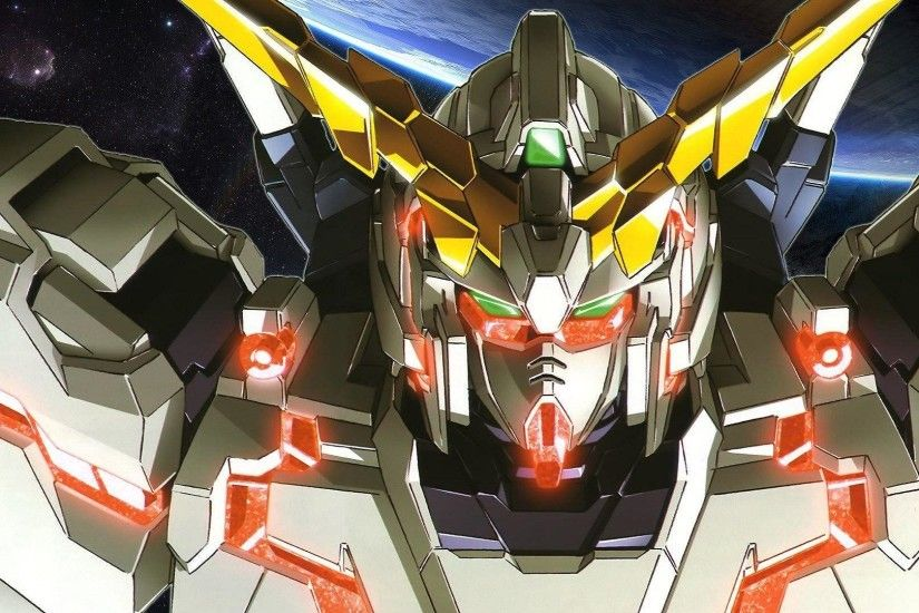 Gundam Unicorn Anime Wallpaper Wide or HD | Anime Wallpapers