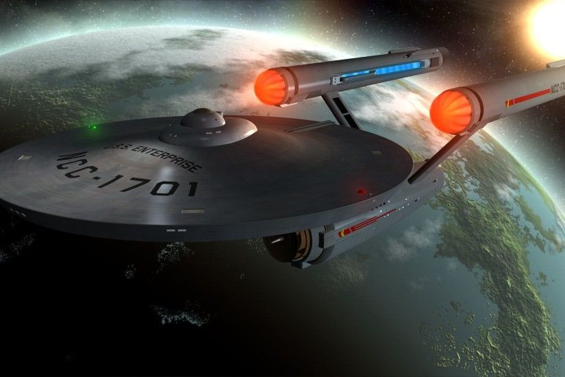 ... Star Trek Wallpaper Image Gallery - HCPR U.S.S. Enterprise Full HD  Wallpaper and Background | 2500x1406 .