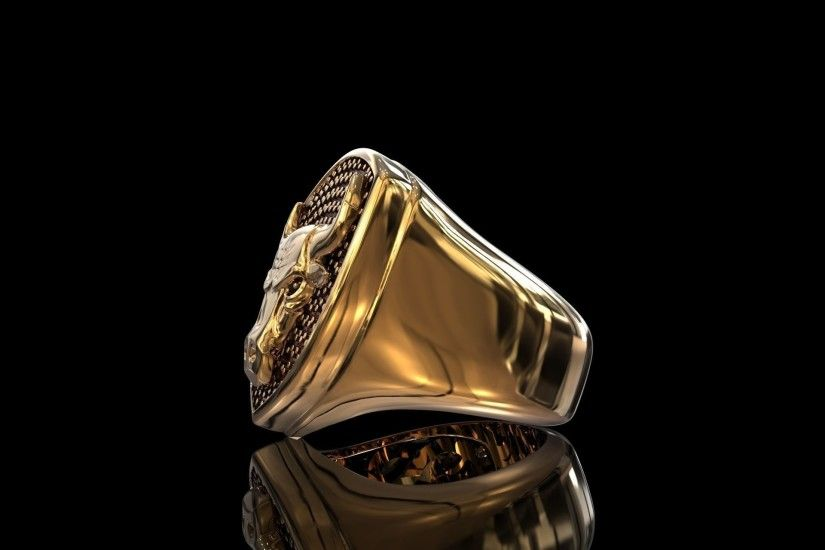 ... ring chicago bulls 3d model stl ...