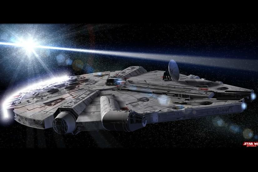 Millennium Falcon - Star Wars wallpaper - 48862