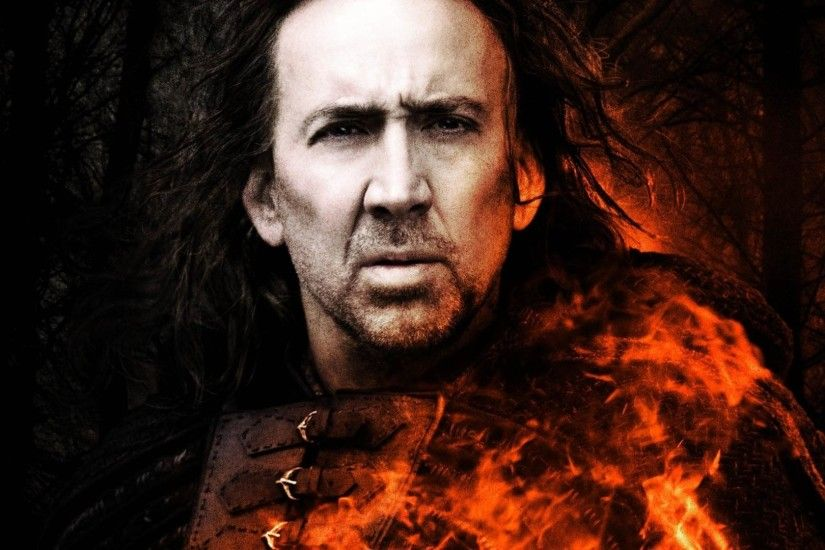 Movie - Season Of The Witch Nicolas Cage Wallpaper