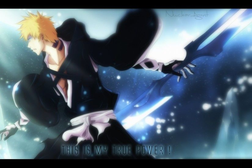 Anime Bleach Manga Attack Titan Nuclearagents High Ichigo Kurosaki Bankai  Resolution