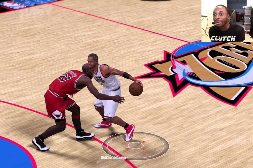 Can I Recreate Allen Iverson's Famous Crossover against the GOAT Michael  Jordan!!?? NBA2K16 Gameplay