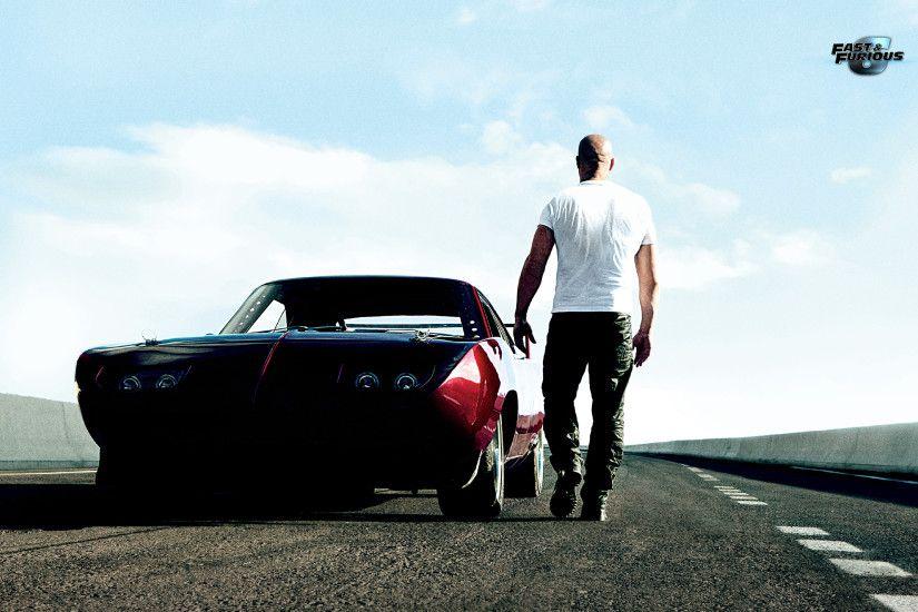Movie - Fast & Furious 6 Dominic Toretto Vin Diesel Wallpaper