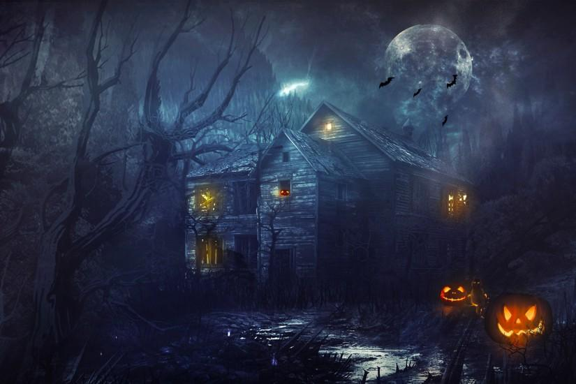 widescreen halloween wallpapers 1920x1200 for hd 1080p