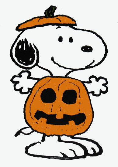 Peanuts Gang Sparkling Halloween Die-Cut Wall Decor - Snoopy