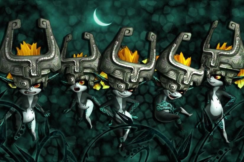Midna from the game The Legend of Zelda