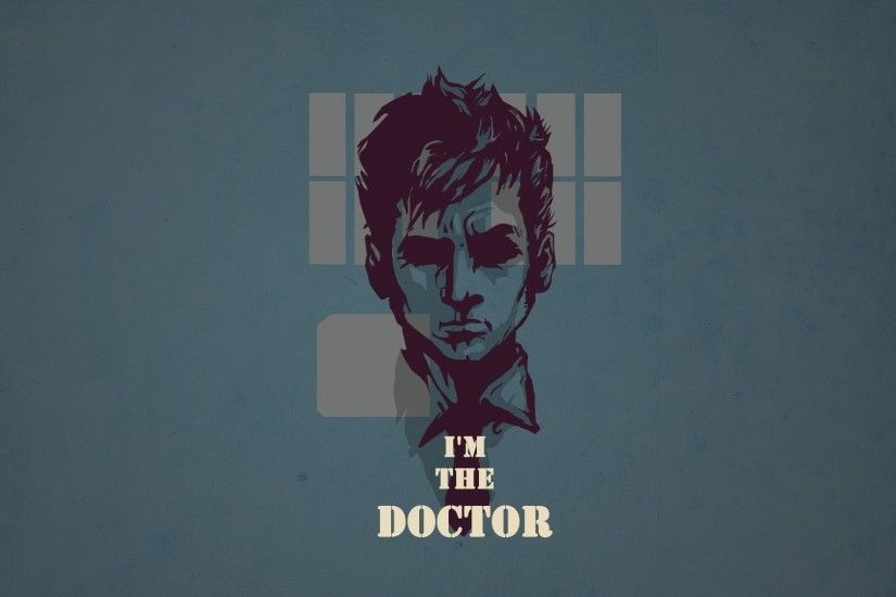 1920x1080 Wallpaper doctor who, tardis, tennant