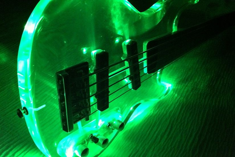 Glowing Guitar Wallpapers 5