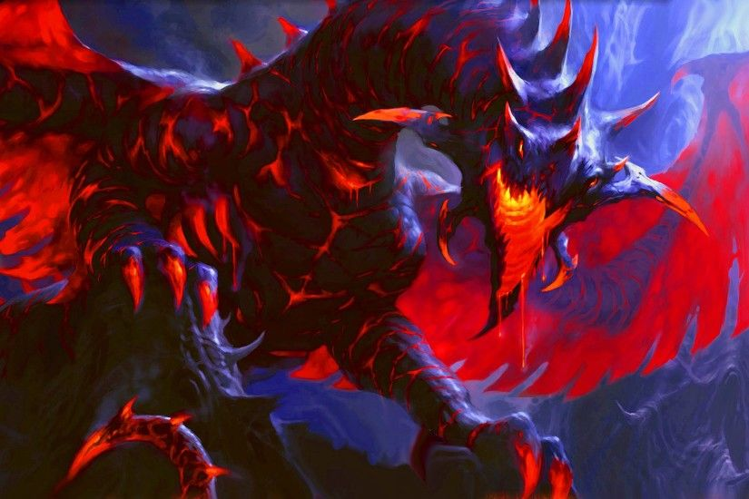 Deathwing black dragon madness world of warcraft cataclysm 1680×1024 Black Dragon  Wallpapers HD (43 Wallpapers) | Adorable Wallpapers | Wallpapers ...