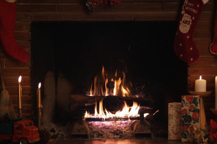 Christmas fireplace fire holiday festive decorations candle f wallpaper |  1920x1080 | 203915 | WallpaperUP