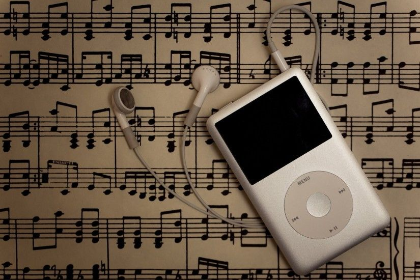 ipod musical notes music
