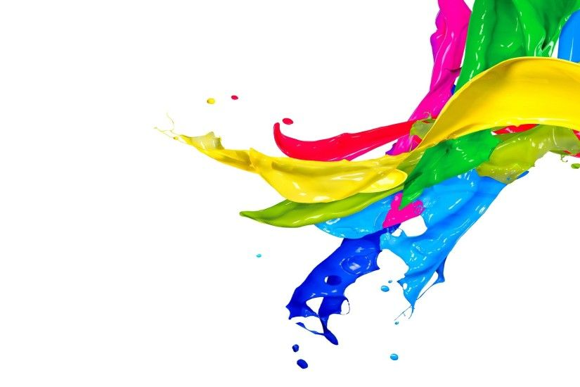 colorful splash wallpaper 46216